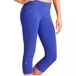 Athleta Relay Capri Leggings Size M Purple